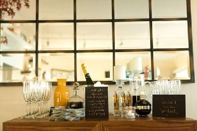 alcohol reception wedding